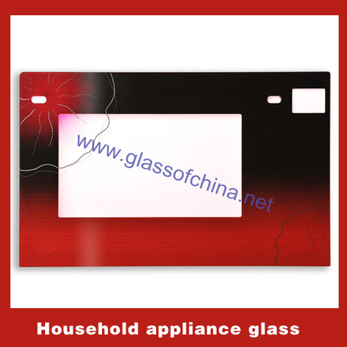 Household appliance glass