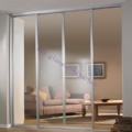 Glass wardrobe door